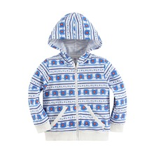 baby hoody new arrival 2015 high quality terry cotton 100% with cute cartoon animals 1501B