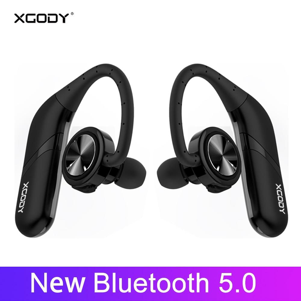 XGODY S800 TWS casque sans fil Bluetooth 5.0 in-ear 3D stéréo son Bluetooth casque sans fil écouteurs pour téléphone