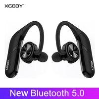 XGODY S800 TWS Wireless Headphones Bluetooth 5.0 In ear 3D Stereo Sound Bluetooth Headset Wireless Earphones For Phone
