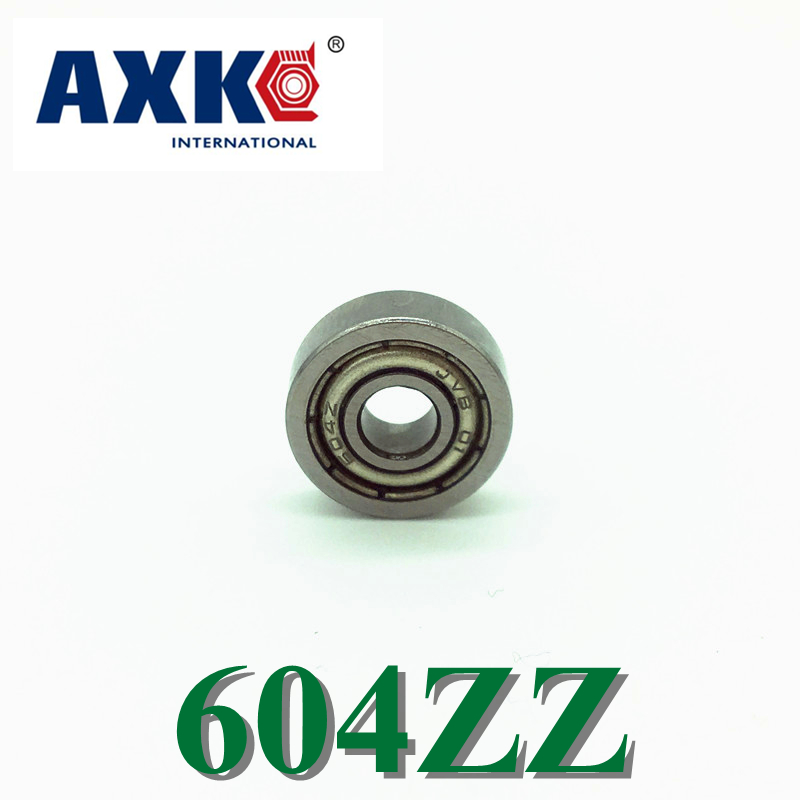 Free Shipping AXK 10PCS 604ZZ  604-2RS  F604ZZ  S604ZZ  Bearings 4x12x4 mm Miniature Ball Bearings free shipping 10 pcs 684zz 684z 684 bearings 4x9x4 mm miniature ball bearings l 940zz abec5