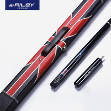 Original RILEY RMA-200 3/4 Snooker Cue Professional Billiard Cue Kit Stick with Case with RILEY Extension 9.5mm Tip RILEY Cue original riley slghtrlght rsr 9e snooker cue high end billiard cue kit stick with case with riley extension 9 5mm tip snooker