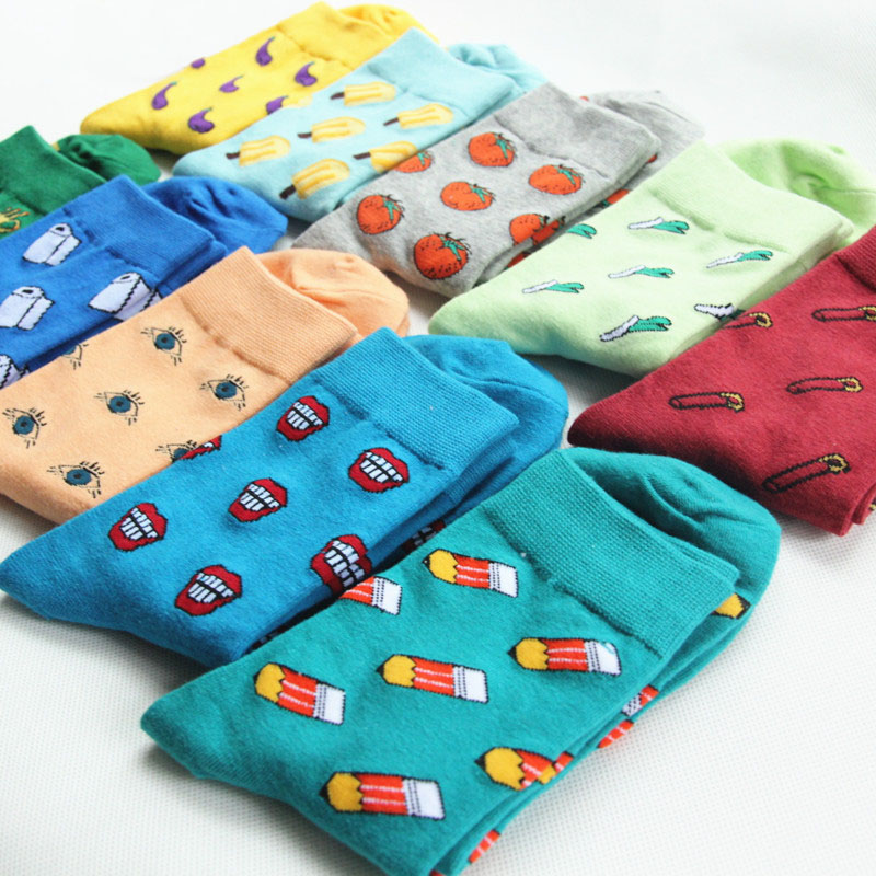Men's socks summer sweat-proof breathable deodorant sports men's cotton socks men's casual fashion happy socks Women socks