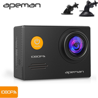 Apeman A70 1080P Dash Cam Video Recorder Wifi 2 0 Inch LCD Novatek 96655 DVR Action