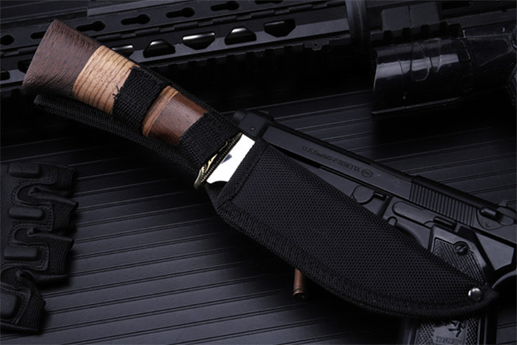 Купить с кэшбэком 2020 New Hot Sale Outdoor Fixed Tactical Combat Military Knife High Quality Camping Survival Diving Sharp Hunting Knives Tools