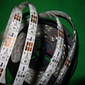 addressable 5m 30LEDs/m DC5V SK6812 led pixel strip,waterproof by silicon coating,with 30pixels/M;WHITE PCB