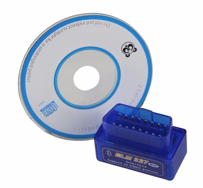 1 шт. ELM 327 V2.1 Bluetooth автомобильный диагностический инструмент OBD2 OBD-II ELM327 автомобильный интерфейс сканер работает на Android