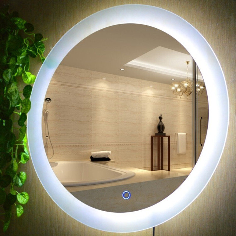 20 24 28 Led Mirror Anti Fog Light Glass Wall Lamps
