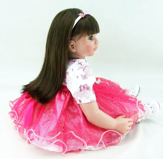 60cm Silicone Reborn Babies Doll Toy Life