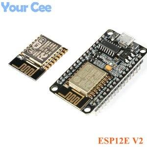 Макетная плата ESP8266 NodeMcu v2 Lua, беспроводной модуль ESP8266 CP2102 340G, серия, Wi-Fi, с поддержкой Wi-Fi, с функцией «Lua» и «Lua», с поддержкой Wi-Fi, с функцией ус...