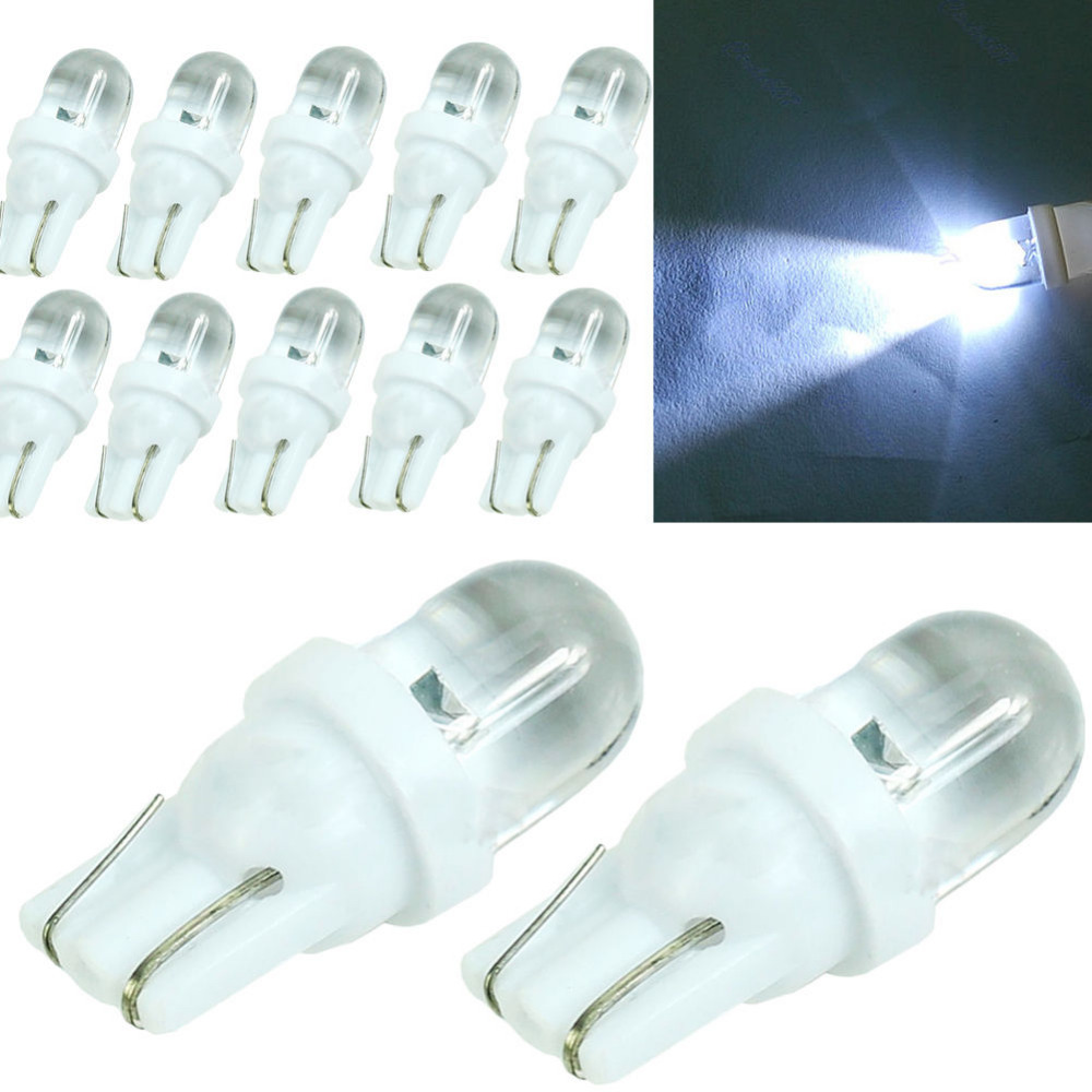 10 pcs sper white t10 car wedge w5w 501 led light lamp bulb w5w 194 168 158 f in headlight bulbs. Black Bedroom Furniture Sets. Home Design Ideas