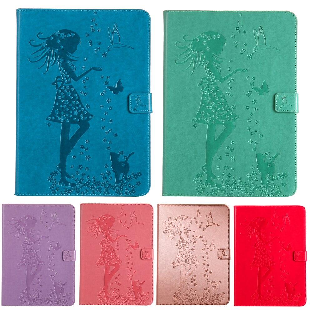 For Samsung Tab A 8.0 T350 T351 T355 Tree Print Stand PU Leather Cover Case For Samsung Tab A 8.0 T355 SM-T350 8 Tablet #K