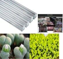 Espectro completo branco t5 5w 7w 20w 30w 40w 30cm 45cm 60cm iluminação led colorida, barra de luz para crescimento de plantas
