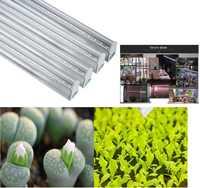 T5 5W 7W 20W 30W 40W 30cm 45cm 60cm pełne spektrum biały kolor oświetlenie led do uprawy kryty cieplarnianych rosną świecąca roślina Bar