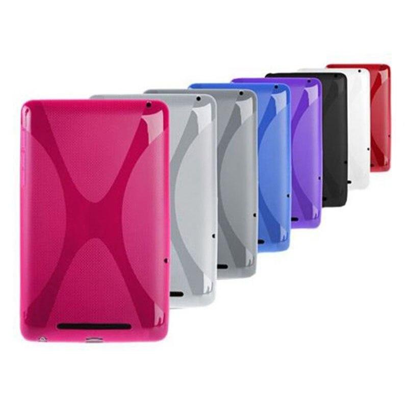 High quality Soft X Line Silicone Cover for Google nexus 7,X Line Soft TPU Gel Skin case for Google nexus 7 1st Gen google nexus 9 2014