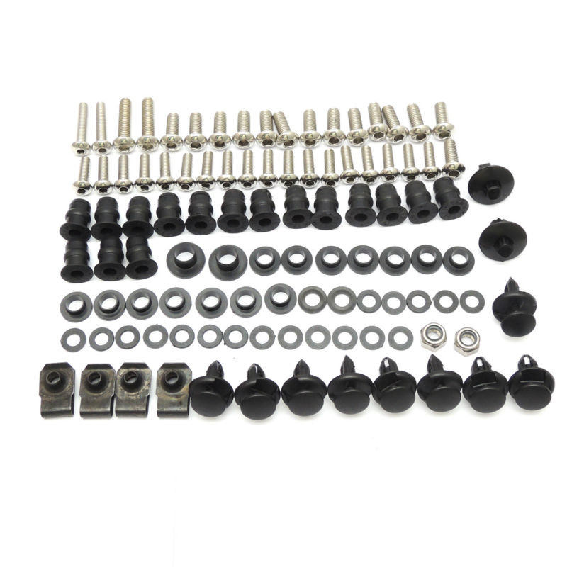 Motorcycle Complete Fairing Bolts for <font><b>Honda</b></font> <font><b>CBR</b></font> <font><b>600</b></font> F4 F4i 1999 2000 2001 2002 2003 <font><b>2004</b></font> 2005 2006 2007 image