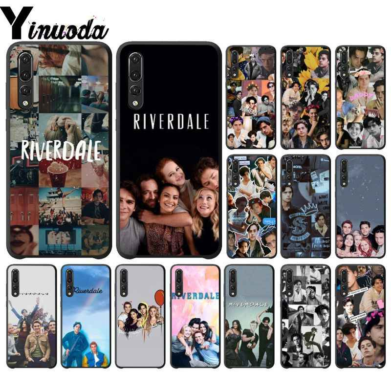 Yinuoda Riverdale DIY Luxury High-end Protector Case for Huawei Mate10 Lite P20 Pro P10 Plus Honor 9 10 Mobile Cover
