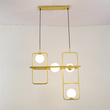 Creative fashion restaurant LED lamps modern personality living room hotel chandeliers lighting Fixture