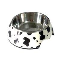 애완 동물 개 그릇 느린 먹이 컨테이너 접시 이동식 스테인레스 스틸 식품 물을 용품 높은 품질의 다채로운 S/M/L