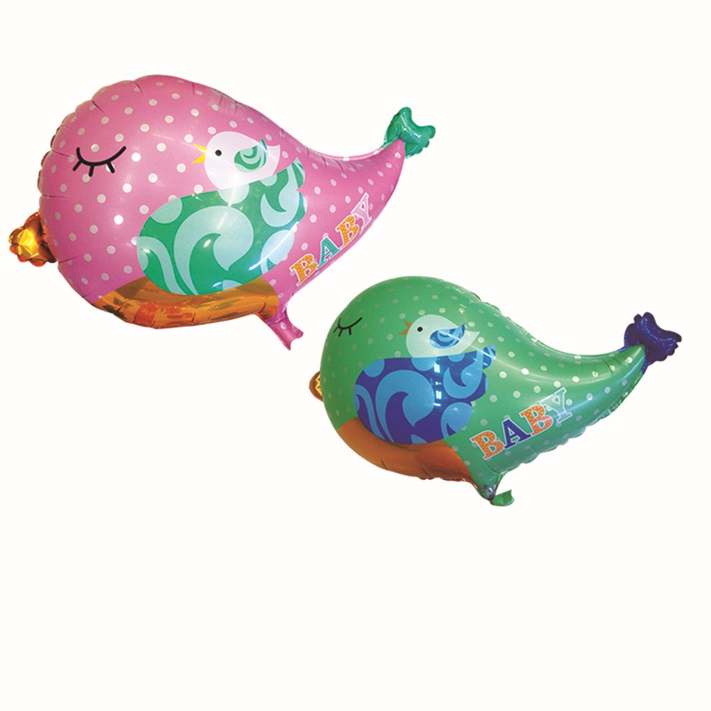 2pcs Love Bird Animal Foil Balloons Wedding Decoration Mariage Baby