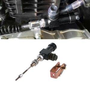 Image 5 - 高品質 1 pc オートバイ油圧ロッドブレーキポンプ M10x1.25mm アルミ