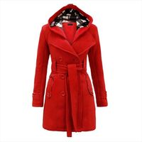 Winter Coat Women Wool & Blends Coats Female Jacket Winter Woman Coat Warm Windbreaker Plus Size Abrigos Mujer Invierno 2018 New