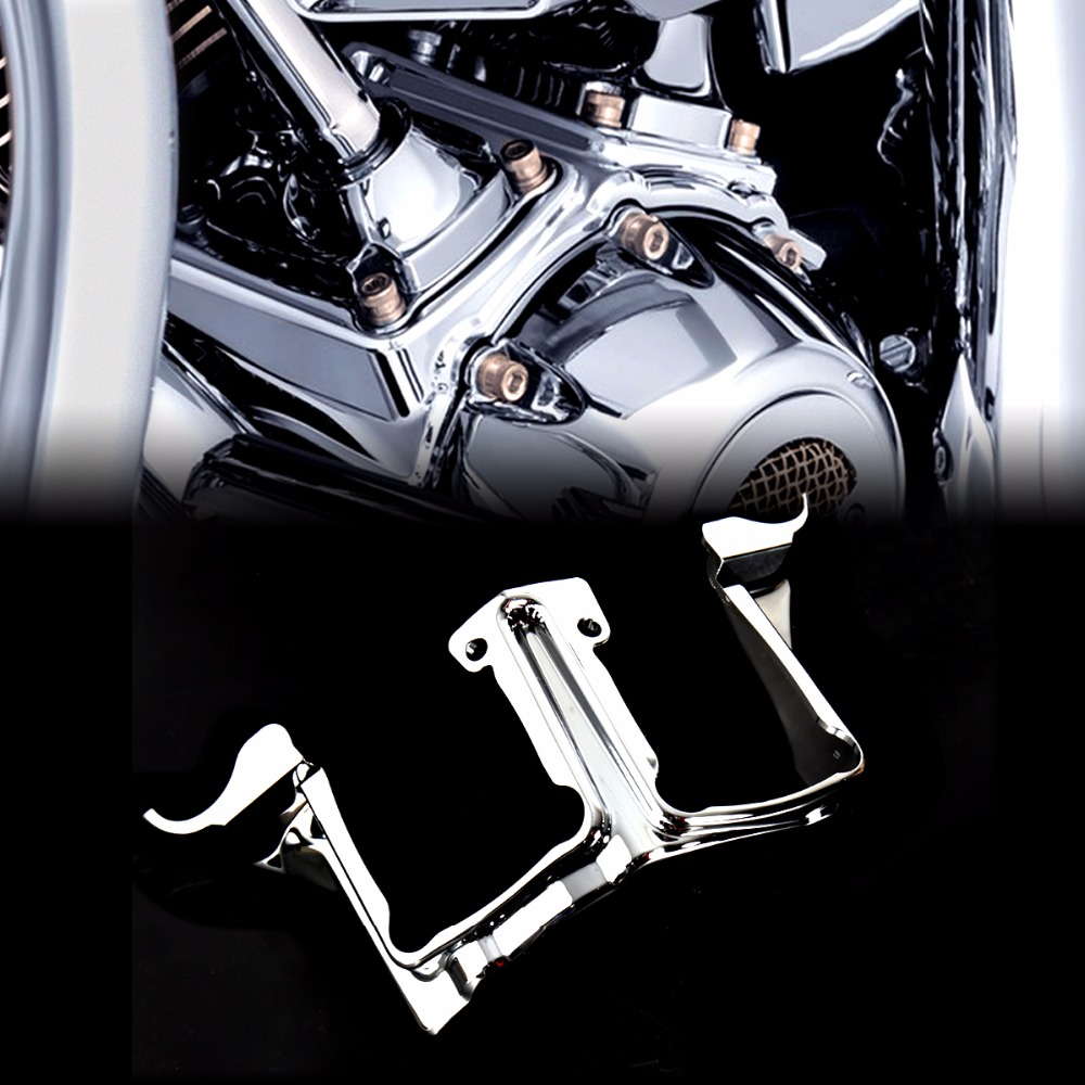 цены Chrome Tappet / Lifter Block Accent Cover For Harley Touring Street Glide Road King 2017 2018 Models