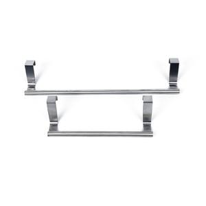 Image 5 - Stouge 1pc Stainless Steel Bathroom Towel Stand Rack Kitchen Cupboard Hanger Cabinet Door Chest Hanging Sundries Storage Shelf