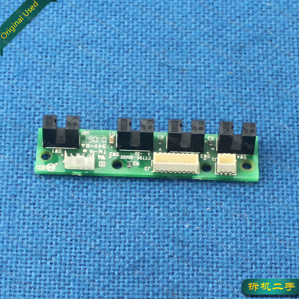 C2688-80005 C7796-60209 C8109-67014 C7796-60137 C7796-80001 Ink Suply Station Board HP DJ 100 110 70 BIJ 2600 Used Plotter Part