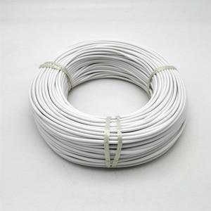 Image 3 - 36 k 48 k 실리콘 고무 또는 fluoropolymer 코팅 따뜻한 원적외선 탄소 섬유 난방 케이블