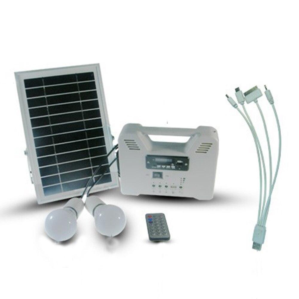 Tamproad Solar Generator 6w Solar Home System Solar Kit