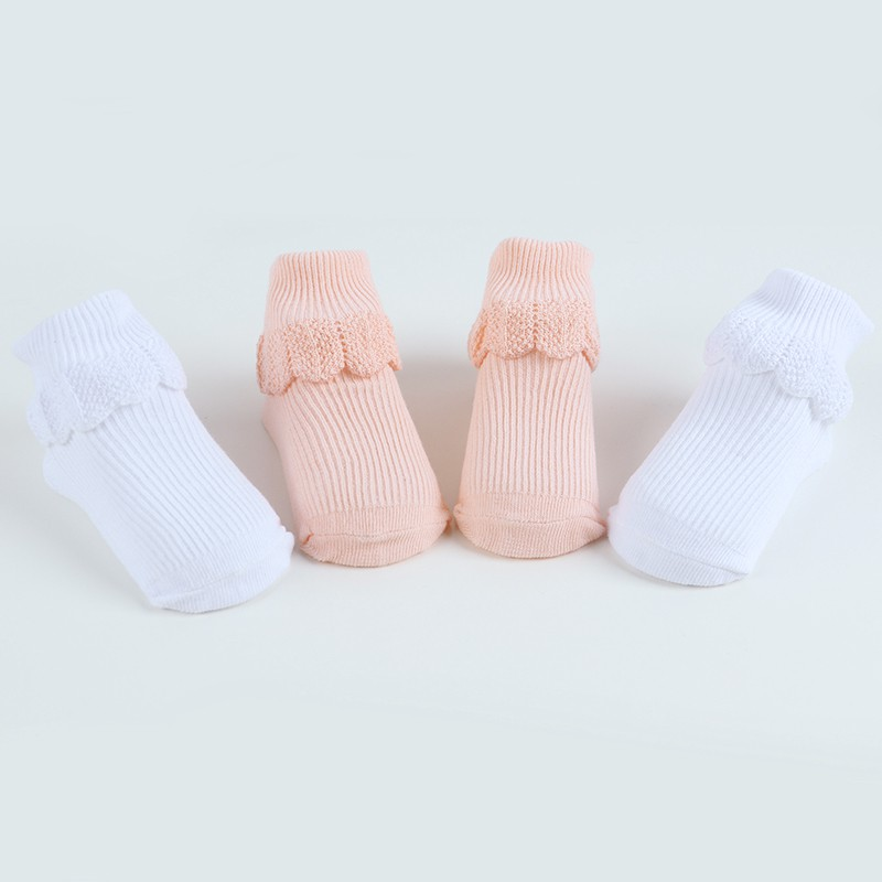2018 New Spring And Autumn Baby Pattern Lace Solid Color Comfortable Cotton Anti-Skid Stripe Socks 0~3Years Old G92018 New Spring And Autumn Baby Pattern Lace Solid Color Comfortable Cotton Anti-Skid Stripe Socks 0~3Years Old G9