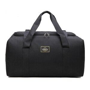 Image 3 - Fashion Men Travel Bags Male Luggage Bag Nylon Large Big Capacity 2 Sizes Duffel Bags Multifunction Shoulder Handbags for Women