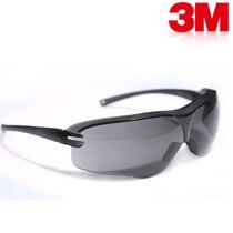 3 М 10435 Безопасность Защитные Очки Обтекаемый Защитные Очки для Слепец Серые Линзы Анти-туман анти-Уф Очки G0632