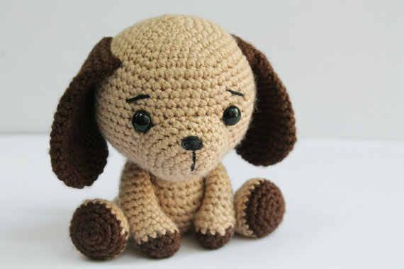 Amigurumi Puppy Dog Free Crochet Pattern #freecrochetpatterns ... | 380x570