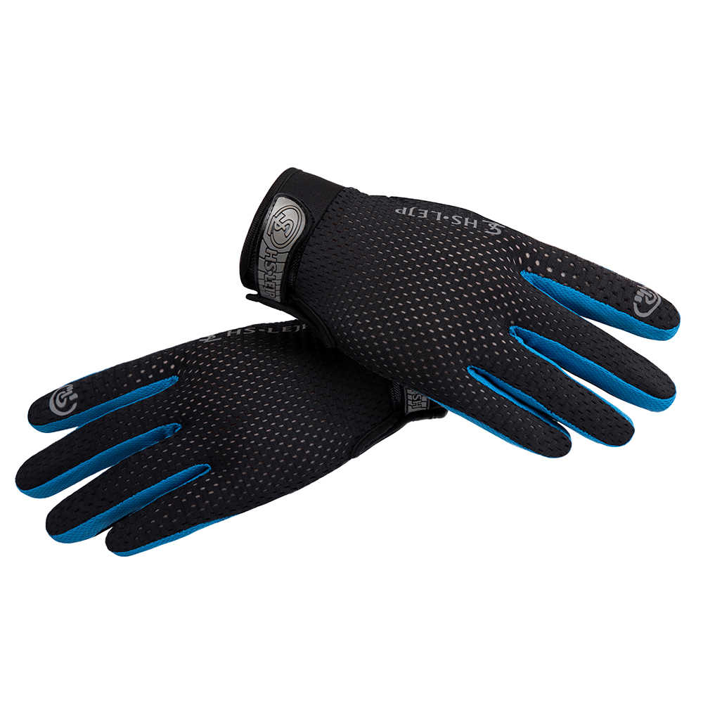 Outdoor Cycling Full Finger Gloves Bicycle Bike Motorcycle Riding Sports Anti Slip Breathable Windproof Downhill Road Gloves