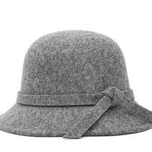Зимняя Регулируемая шляпа-ведро для женщин, женская шерстяная шляпа цвета хаки для рыбалки снаружи