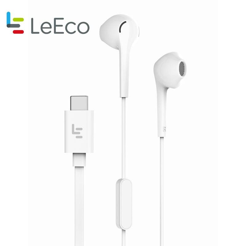 Original Letv CDLA Earphone Letv 2Pro HiFi Chip Inbedded Continual Digital Lossless Audio Type C Plug