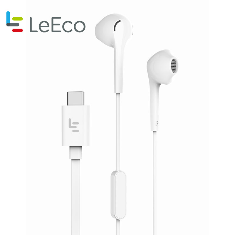 Original Letv CDLA Earphone Letv 2Pro HiFi Chip Inbedded Continual Digital Lossless Audio Type-C Plug Gold Galved Mic Retail Box
