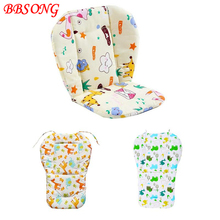 BBSONG Universal Baby Pad Warm Cotton Cushion Infant Stroller Seat Pad Pram Mattress Harness High Dining Chair Toddler Seat Mat