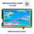 DMT48270T043_03W écran LCD 4.3 pouces  mettre en évidence l'angle de vision grand format DGUS non tactile|screen|screen lcd|  -