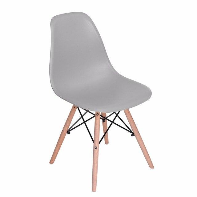 EGGREE Set Von 4 Esszimmer Stuhl Nordischen Stil Mode Esszimmer Grau Stühle  Das Moderne Populäre Kunststoff