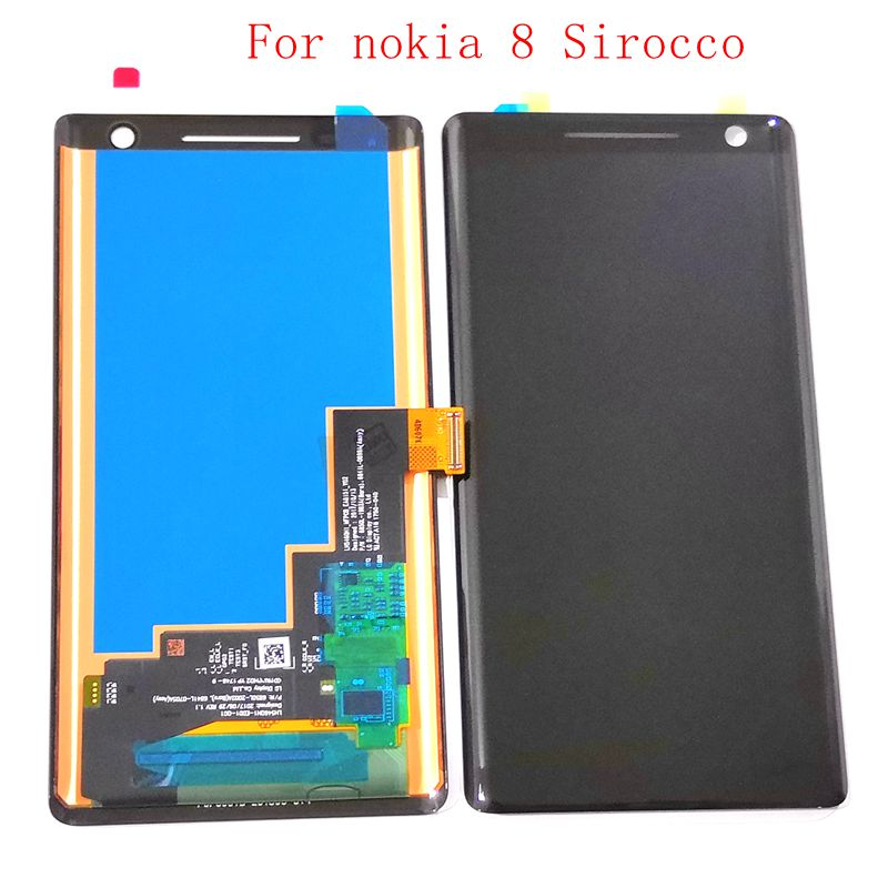 2018 new For Nokia 8 Sirocco Lcd Screen Display +Touch Glass Digitizer Assembly Replacement Parts 2018 new For Nokia 8 Sirocco Lcd Screen Display +Touch Glass Digitizer Assembly Replacement Parts