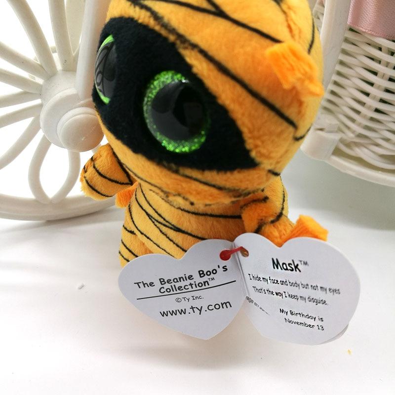 d7c7b8c092e Ty Beanie Boos Plush Toy Mask Mummy Clip Small Pendant Cute Stuffed Doll  Kids Birthday Gift Key Chain Bag Ornaments-in Stuffed   Plush Animals from  Toys ...