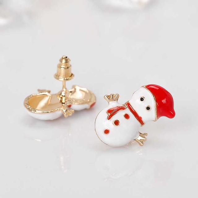 Funny Christmas Stud Earrings