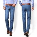 2016 Regular Fit Jeans Male Fashion Slim 100% High Quality Denim Blue Black Men's Jeans Size: 28-38 Free Shipping 01Y816