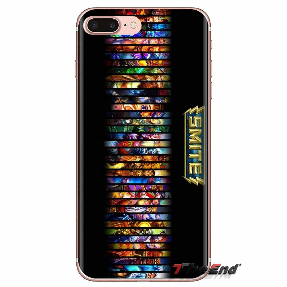 Soft Cases For HTC One U11 U12 X9 M7 M8 A9 M9 M10 E9 Plus Desire 630 530 626 628 816 820 830 SMITE All Gods Loki Game Art Poster