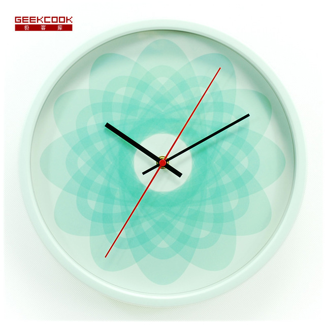 30CM Wall Clock Saat Clock Reloj Metal Digital Wall Clocks Duvar Saati Horloge Murale Reloj de pared Kitchen Quartz Watch Klok