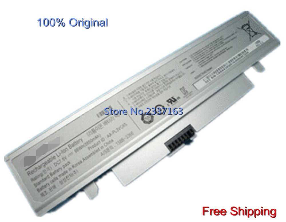 IECWANX 100% new Laptop Battery AA-PL3VC6W (7.5V 8850mAh 66WH 6Cell) For Samsung NP-X125 NP-X130 NP-X180 NP-X181 Series
