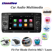 Liandlee For Skoda Octivia Mk2 / Laura 2004~2013 Radio Camera OBD TV BT Wifi CD DVD Player GPS Map Nav Navigation Android System