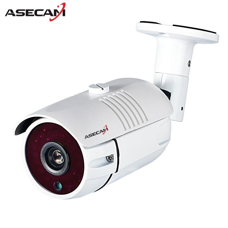 Новые HD 1080 P IP Камера imx323 H.265 48 В POE CCTV hi3516c пуля белый металл Водонепроницаемый сети ONVIF P2P видеонаблюдения